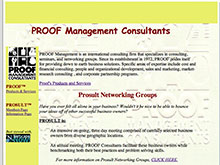 PROOF Management 1999